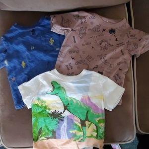 Bundle of 3 Baby Gap Tshirts.